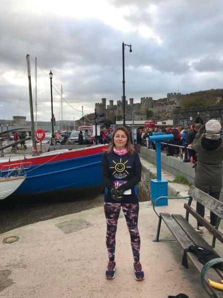 Jo Smailes Conwy Half Maraton
